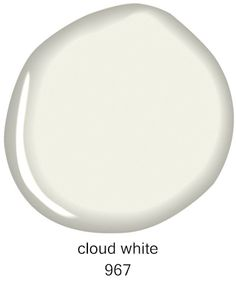 Cloud White By Benjamin Moore Considered One Of The Best