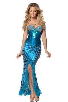 Deluxe Mermaid Costume - $104.99