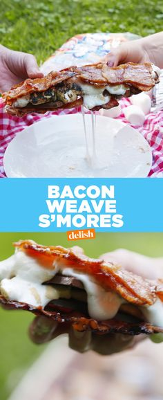 Bacon-Weave S'moresDelish