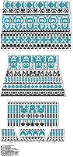 Huviretket-kirjoneulesukat Novita Venla   Novita knits