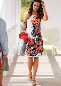 Úpletové šaty s potlačou Zvýrazňujúce • 17.99 € • Bon prix