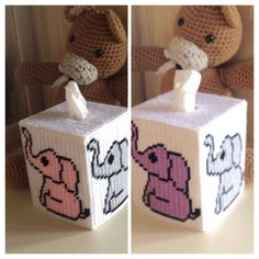 A personal favorite from my Etsy shop https://www.etsy.com/listing/524581294/baby-elephants-tissue-box-cover
