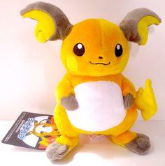 Pokemon Center Original Raichu Plush @ Sunyshore.com