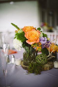 #centerpiece #MorrisArboretum #PeachPlumPearPhotography  #summerwedding #outdoorwedding #rusticwedding