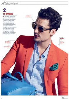 Sam Webb by Taghi Naderzad for GQ France