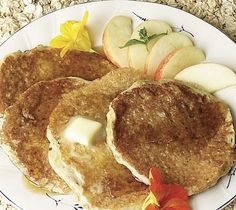 Thrifty Foods - Recipe - Oat and Apple Pancakes