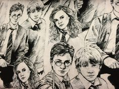 Sold by the half yard  Harry Potter and movie characters fabric featuring your favorite character Harry Potter. Fabric is brand new and has never been washed.  Colors are bright and beautiful. Fabric measures approx 44 wide 100% cotton Price is sold by the 1/2 yard Multiple yards will be cut as one continuous piece. In other words, if you order 4 half yards you will receive a 2 yard piece of fabric. All items at The Blushing Iris come from a smoke free and pet free workshop.