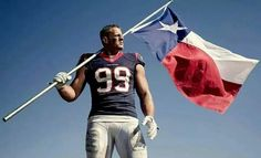 Watt may hail from Wisconsin, but Texas has adopted the star defensive end as its own. Prop Styling by Anthony A. Altomare Wardrobe Styling by Michael Nash Grooming by Juanita Lyon Texans Players, Football Players, Bulls On Parade, Justin James, Houston Texans Football, Nfl Photos, Jj Watt, Win Or Lose, Home Team