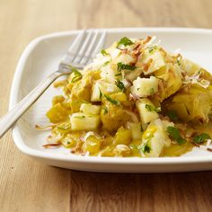 Hawaiian Curried Chicken with Pineapple Salsa Recipe | Weight Watchers