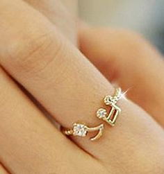 Musical Note Ring-- I seriously want this. Someone buy it for me for Christmas!! :/