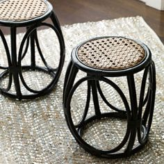 Elsa Stool - Set of Two in Fall 2012 from Serena & Lily
