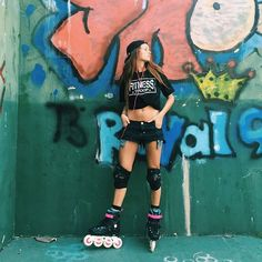 @agustinadibenedetto y sus nuevos Powerslide Imperial Fluor. ¿Cancherísima no? #weloverollers Roller Derby, Roller Skate Wheels, Retro Roller Skates, Roller Skating, Skate Girl, Skate Party, Surf Girls, Photoshoot, Skater Girls