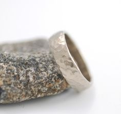 nice hammered ring