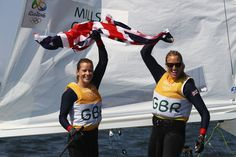 Hannah Mills and Saskia Clark did all that was necessary to seal gold…