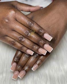 Classy Acrylic Nails, Bling Acrylic Nails, Classy Nails, Best Acrylic Nails, Simple Nails, Glamour Nails, Dope Nail Designs, Square Nail Designs, Acrylic Nail Designs
