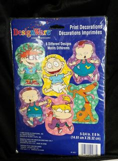 Designware American Greetings NOS Rugrats Print Decorations Birthday Party Kids