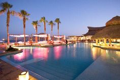 Nikki Beach Resort in Cabo San Lucas hosts some of the worlds best dance parties with labels like Hed Kandi and DJ's like Tiesto. #JetsetterCurator