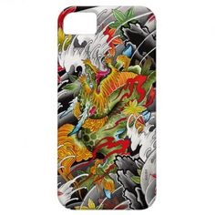 Kirin Japanese tattoo art watercolor painting iPhone 5 Cover by vincentmoisdon #iPhone5 #iphone #smartphone #case #cover #japan #japanese #phonecases #oriental #gift #customizable iPhone 5  unique japanese themed cases and covers | tattoos picture japanese tattoo art