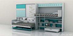 折叠家居没有发展空间?欣赏一下国外的经典设计 Murphy Bed, Shoe Rack, Storage, Table, Design, Furniture, Home Decor, Purse Storage, Foldable Bed