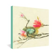 Hadley Hutton Magnolia Nest Gallery Wrapped Canvas   DENY Designs Home Accessories