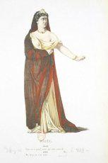 Pierre Corneille – Médée, ilustración de Geffroy (1869)