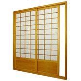 Found It At Allmodern 83 X 73 5 Single Sided Sliding Door Shoji Room