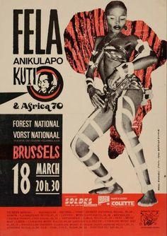 """sophiebass-scrapbook:  the Fela Kuti musical was amazing!!  """