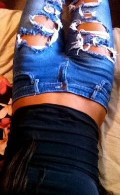 Never have enough pair of jeans.