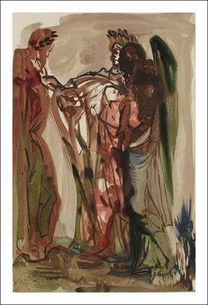Salvador Dalí - Divina Commedia, Purgatorio VI