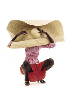 Big hats=style+sun protection. #assa by #harleyweir for Vogue Italy....x