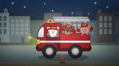 Hurry Hurry Drive the Firetruck song for children