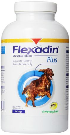 VETOQUINOL 90 Count Flexadin Plus Tablets * Startling review available here  : Dog supplies for health