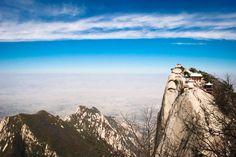 Huashan's West Peak. Xi'an. China.