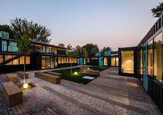 Name: Container Park (Mercan)  Location: Ege Üniversitesi Teknopark - İzmir/TURKEY  Architectural Design team; Engin Ayaz, Nesile Yalçın, Nujen Acar, Elif K...
