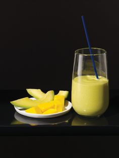 Gluten Free Avocado Mango Smoothie | Vegetarian Times.  With summer coming this is going to be excellent!