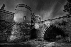 Nottingham Castle v2.0 BW
