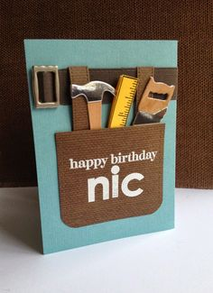 Fathers day card using all stampin up products some retired im in haven happy birthday nic m4hsunfo