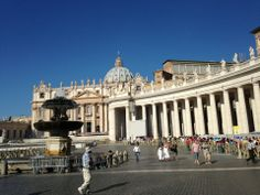 c'mon now it's the Vatican why wouldn't I wanna visit?