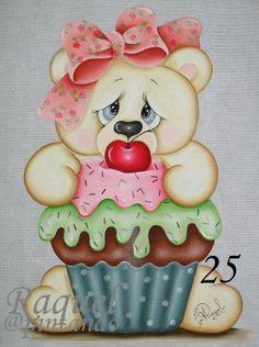 Ursinha cupcake