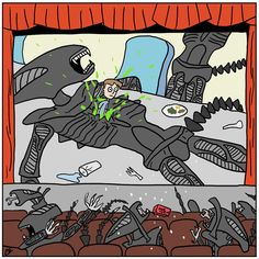 Intergalactic movies by ApothecaryAphid on DeviantArt Aliens Funny, Aliens Movie, All Meme, Stupid Funny Memes, Funny Horror, Horror Movies, Funny Images, Funny Pictures, Giger Alien