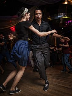 https://flic.kr/p/nypZax | Lindy Hop at the Chalet du Parc | Organized by Shake that Swing