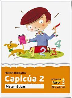 """Actividades digitales de Matemáticas complementarias a los libros de texto """"Capicúa"""" de 2º Nivel de Educación Primaria de Ediciones Bromera."""