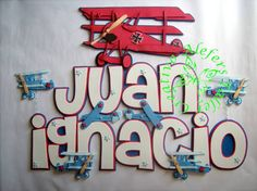 Para los amantes de los aviones...=) Baby Shower, Neon Signs, Home Decor, Stall Signs, Jelly Beans, Manualidades, Babyshower, Decoration Home, Room Decor
