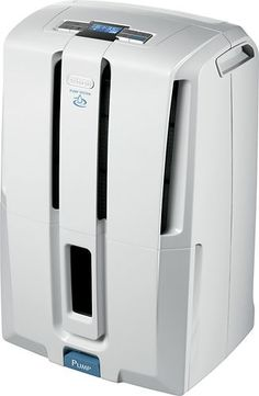 DeLonghi - 50 -Pint Pump System Dehumidifier - White