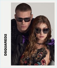 Dsquared² Spring Summer 2017 campaign - Gigi Hadid - Mert and Marcus Gigi Hadid, Bella Hadid, Fashion Models, Fashion Beauty, Womens Fashion, Gq Fashion, Fashion Spring, Alas Marcus Piggott, Portrait