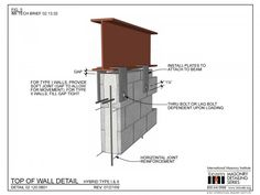 The Masonry Detailing Series is a collection of illustrative construction details & diagrams made for architects & engineers to use as a design resource. Precast Concrete, Stair Detail, Roof Detail, Rigid Insulation, Masonry Construction, Steel Structure Buildings, Steel Frame House, Masonry Wall, Building Information Modeling