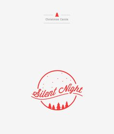 Merry Christmas! Christmas carol logotypes by Elle Poon and Kenny Foo.