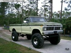 jacked up trucks, who's is biggest? - Page 18 - Ford Truck Enthusiasts Forums Big Ford Trucks, 1979 Ford Truck, Ford Ranger Truck, Classic Ford Trucks, Ford 4x4, Lifted Ford Trucks, Diesel Trucks, Cool Trucks, Chevy Trucks
