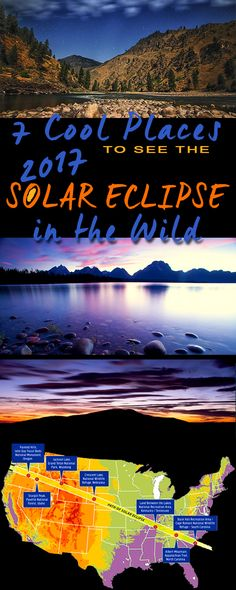 Where will you be for the 2017 total solar eclipse? We've rounded up some of the best off-the-beaten path places to view this once-in-a-lifetime event.