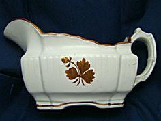 Tea Leaf Gravy Boat